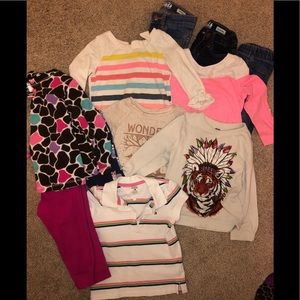 Girl 18 piece clothing bundle
